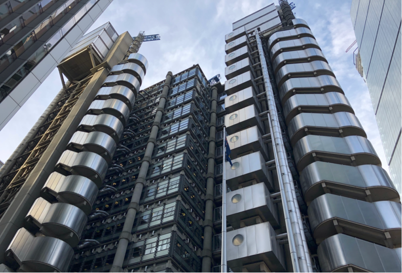 The Lloyds building, London